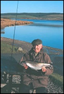Fly fishing in Cilcain